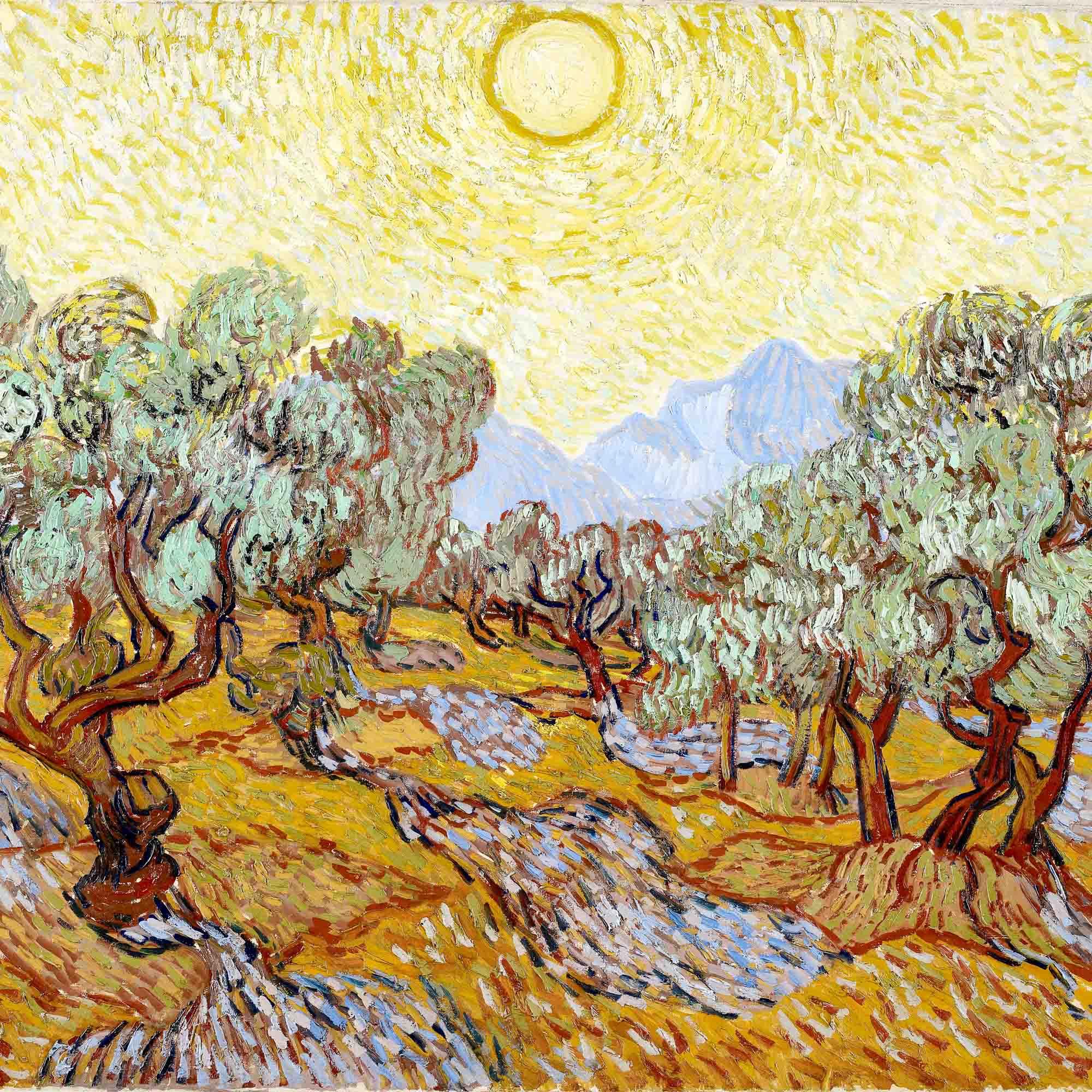 Vincent van Gogh, Olivenbäume, 1889