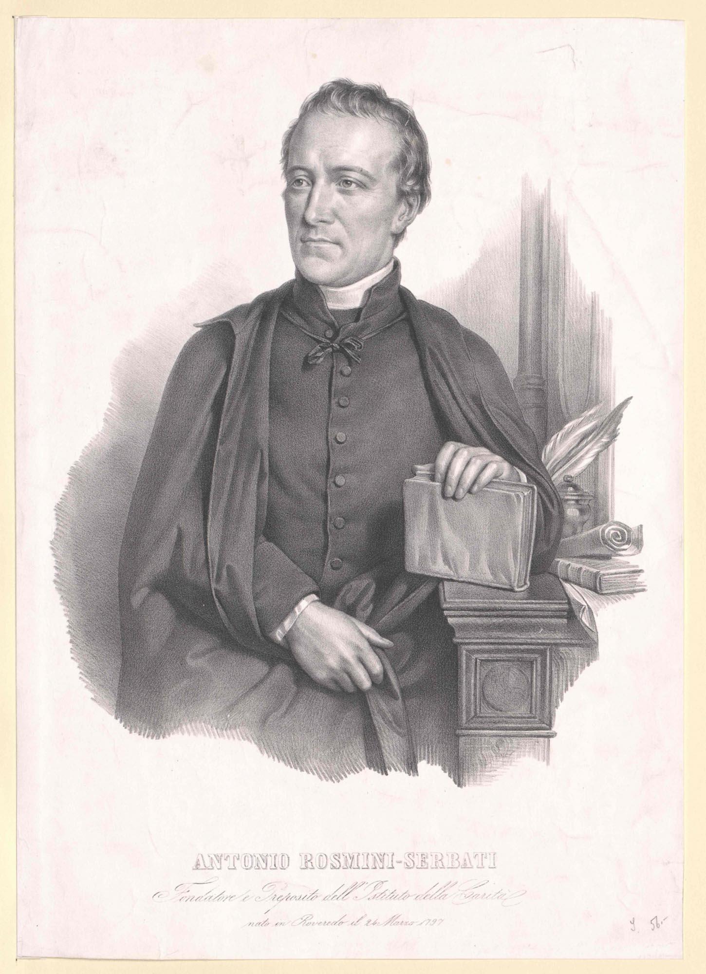 Antonio Rosmini, 1797–1855