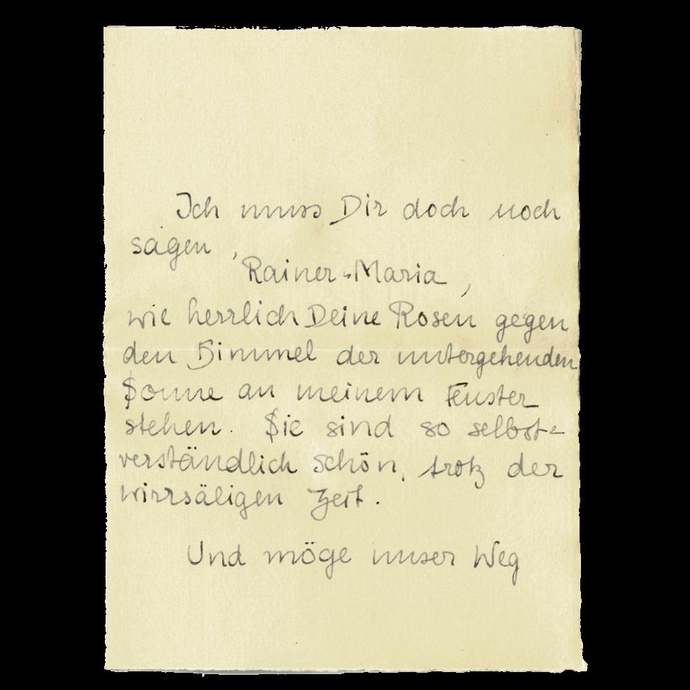 Elya an Rainer Maria, 17.4.1919