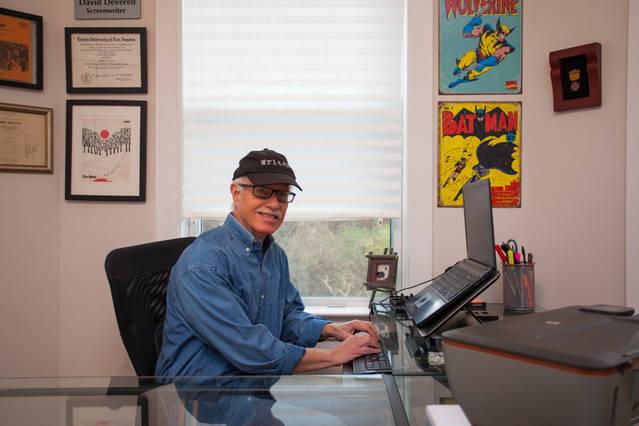The Narrow Edge  screenwriter, David Deverell