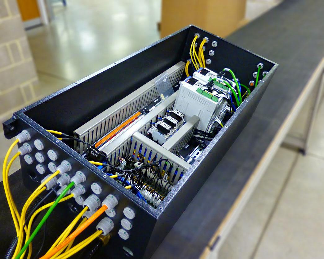 MAZAK MAGAZINE CONTROL BOX