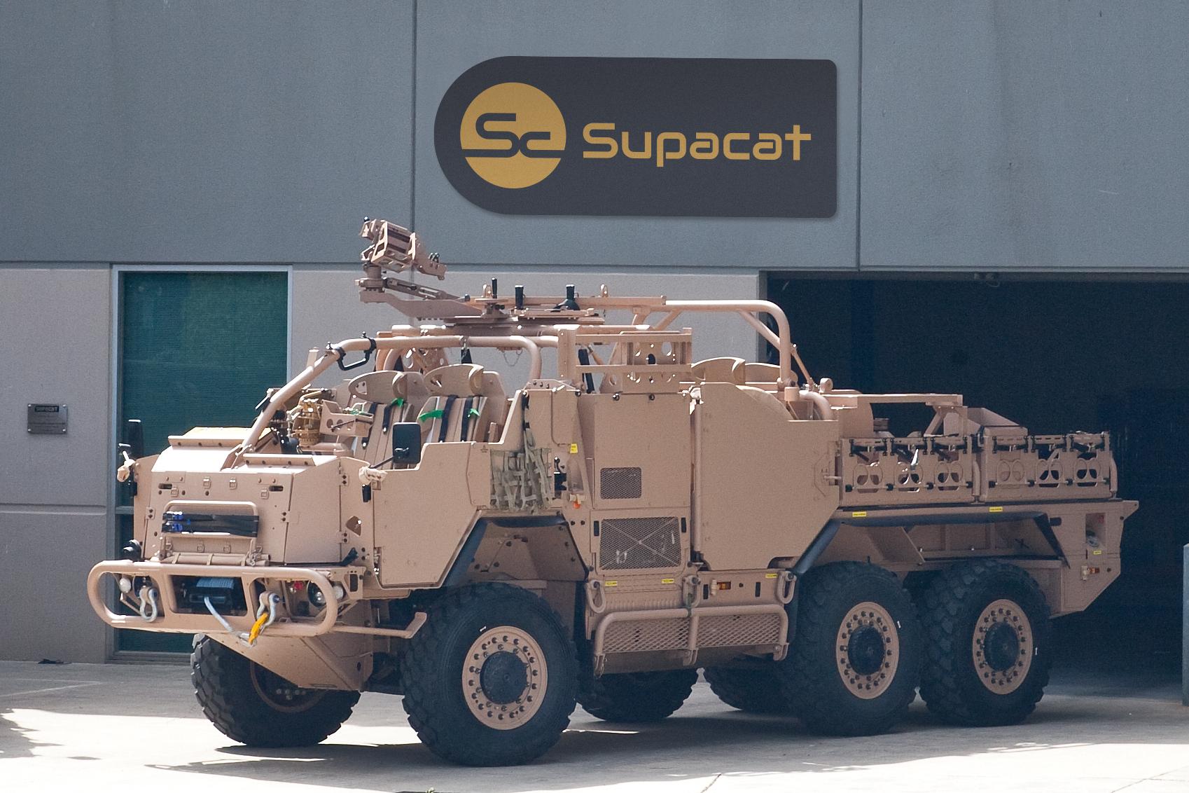 Supacat Vehicle