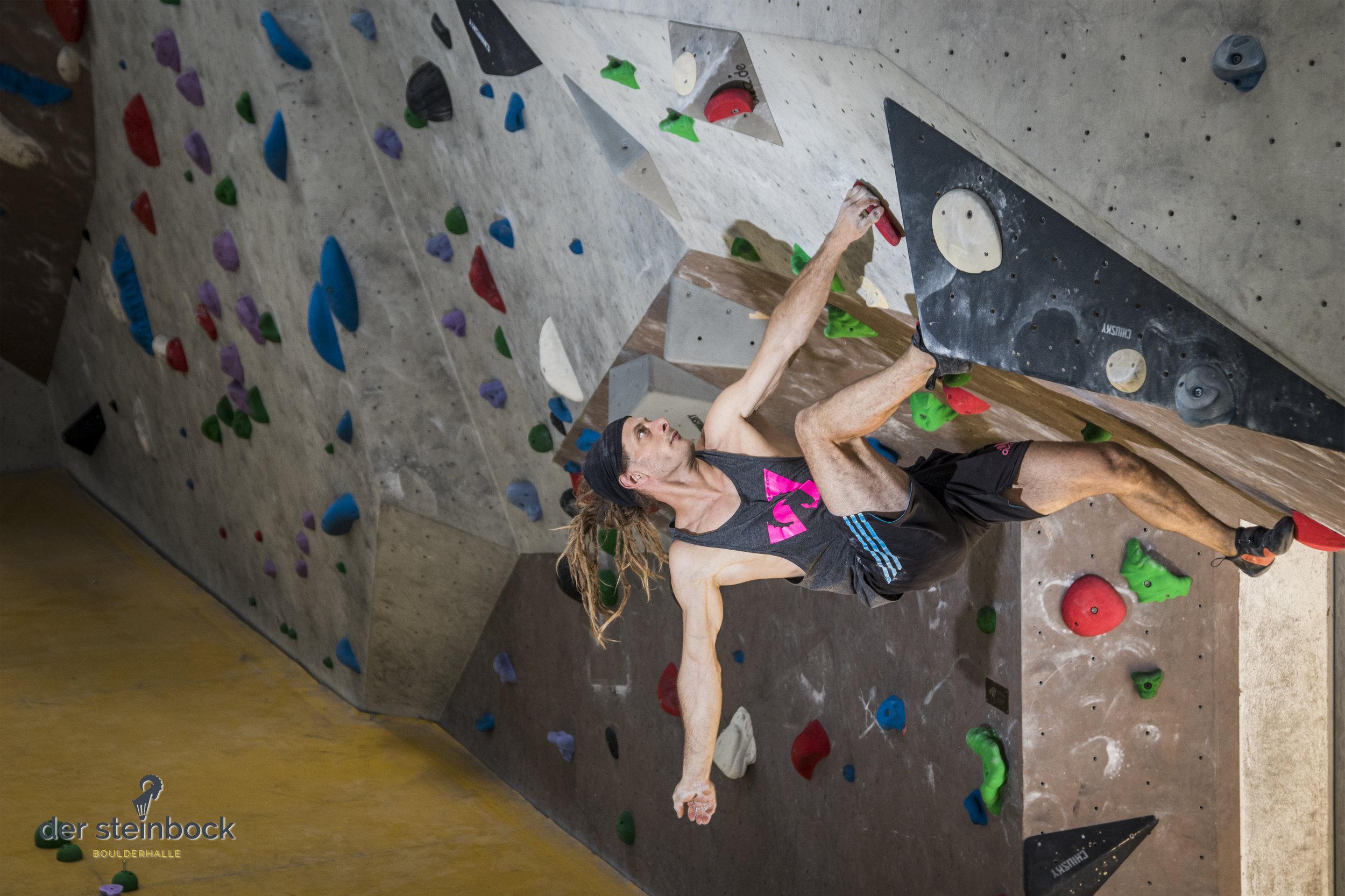 neue Boulder Zirndorf steinbock