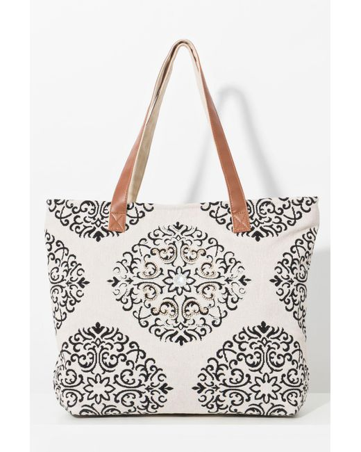Lyst Pia Rossini Canvas Bag