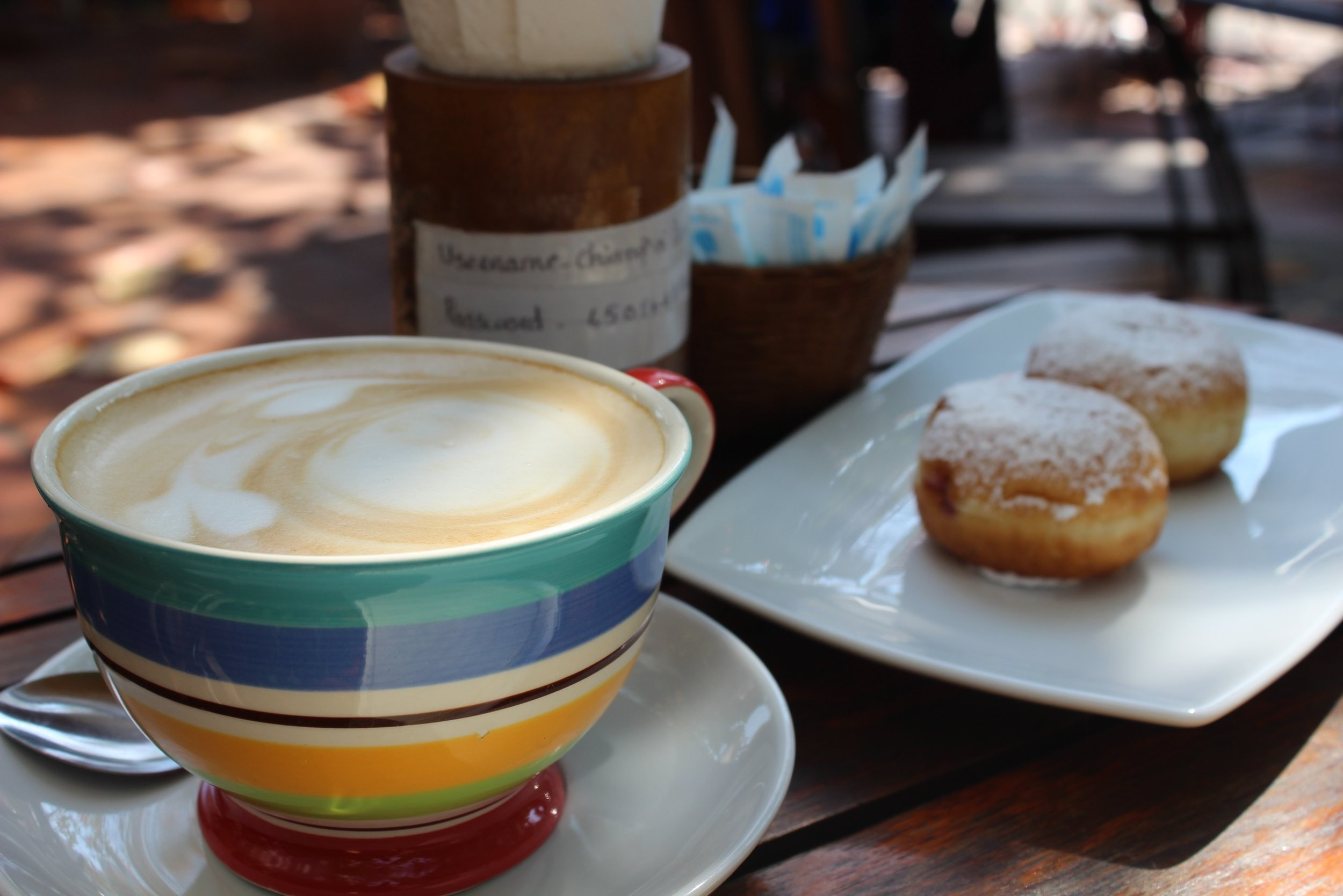 Coffee and donuts in Chiang Mai