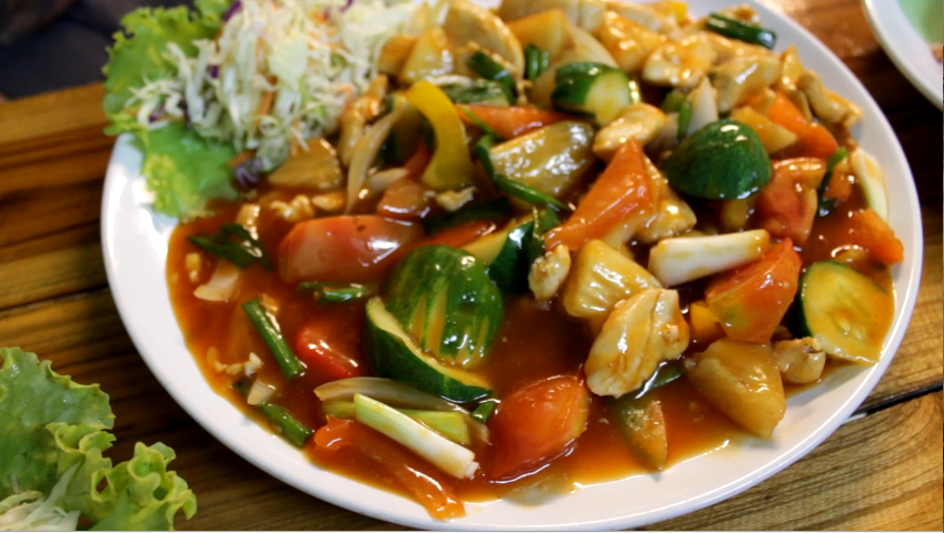 Sweet and Sour Chicken Cooking Love