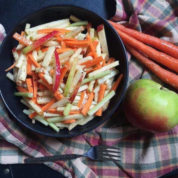 Apple Carrot Slaw
