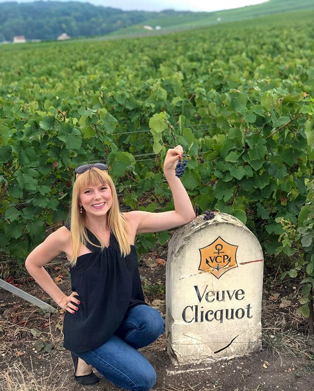 Tasting the origins of your favorite drink. 🍇 Another one ✔️ from the bucket list. 🥂 @veuveclicquot 🍾
