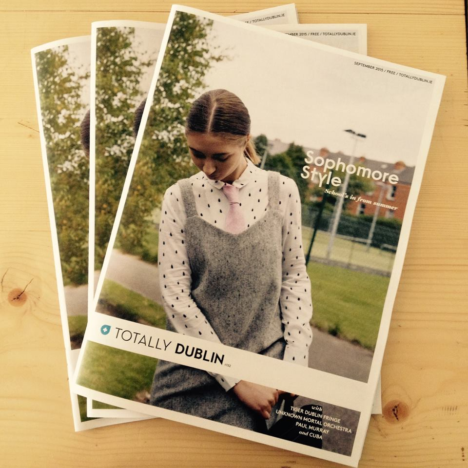 Totally Dublin: Cover September 2015