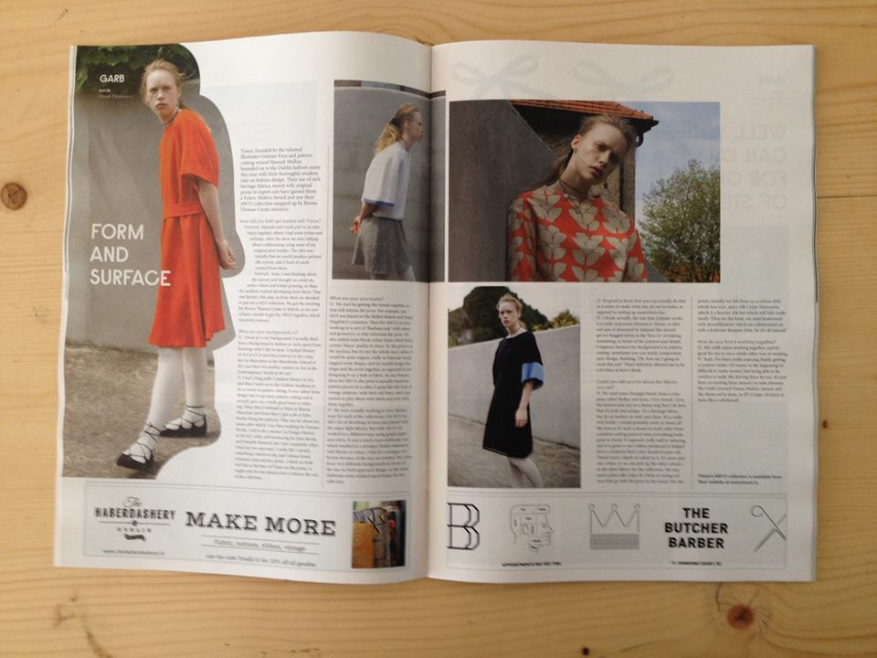 Totally Dublin: September Issue 2015 Interview with Honor Fitzsimons
