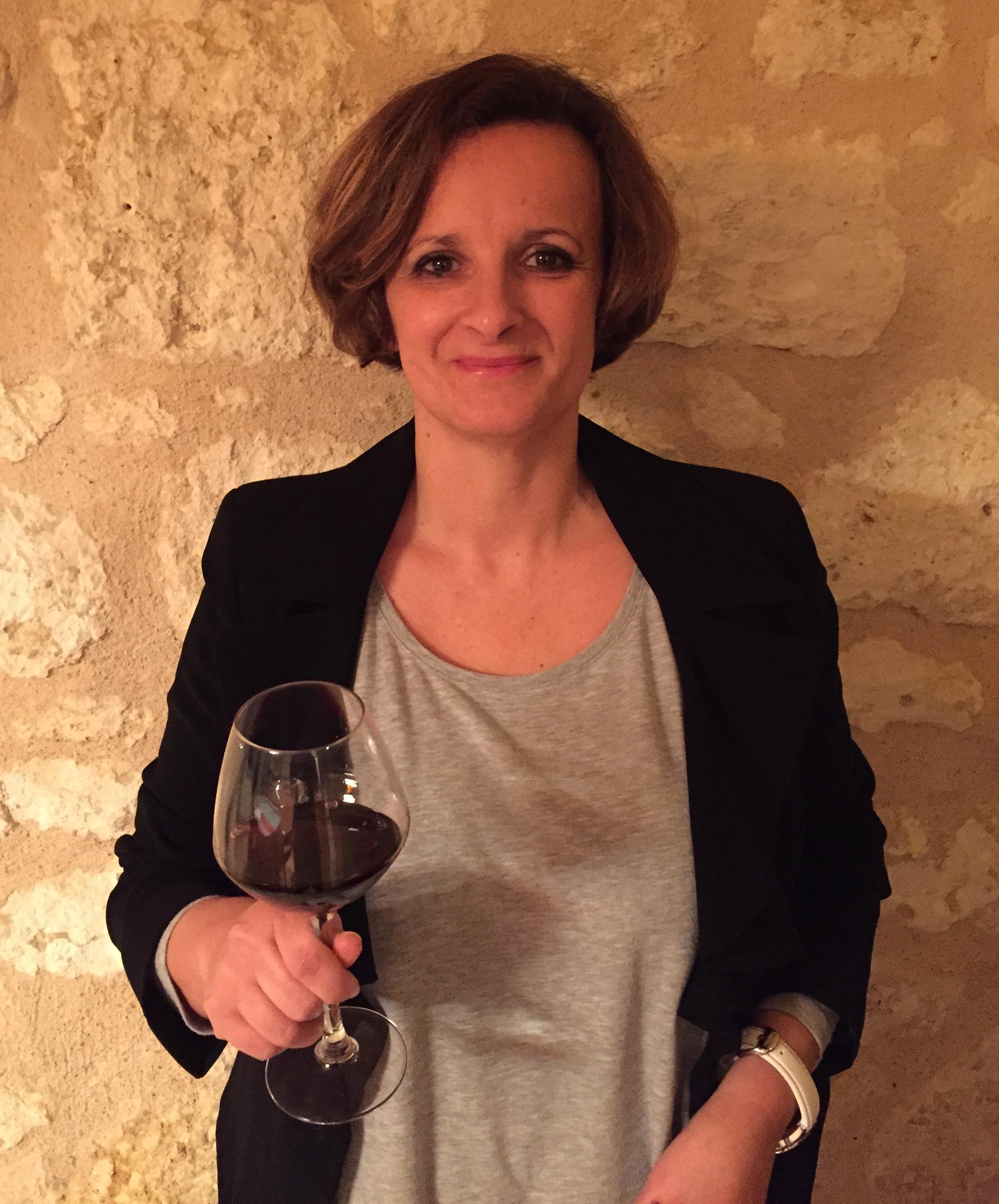 Sandrine Tillet: Ops Head of the Chateau (Photo credit: Chateau De Saint-Pey)