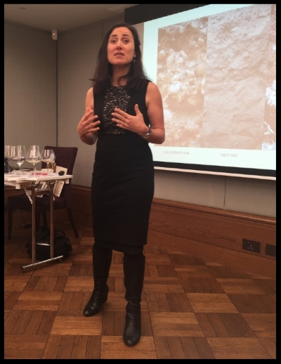 Tasting of Catena Zapata wines with Laura Catena in Nov 2016 (Photo credit: Sumi_Sumilier)