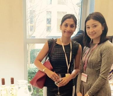 Sumi Sarma with Ayana Misawa