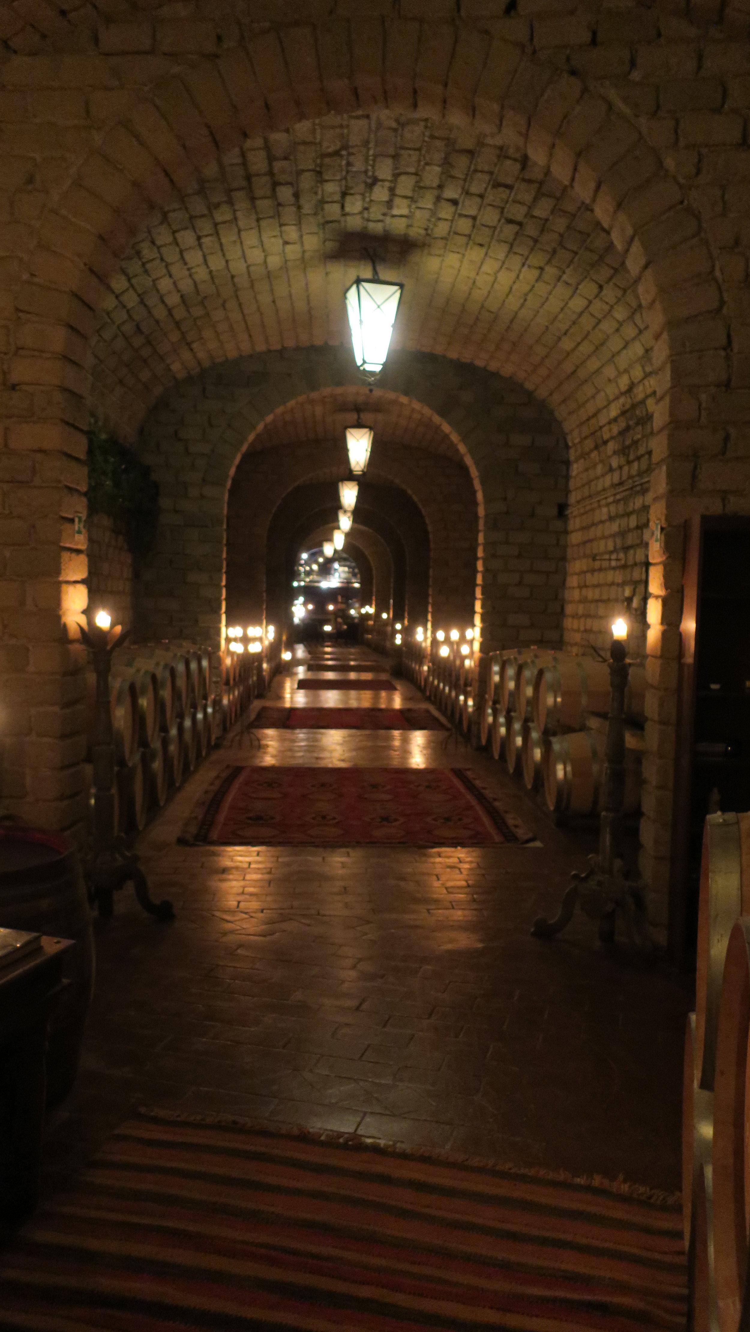Wine cellar designed by Luca Brasini (Photo credit: Sumilier)