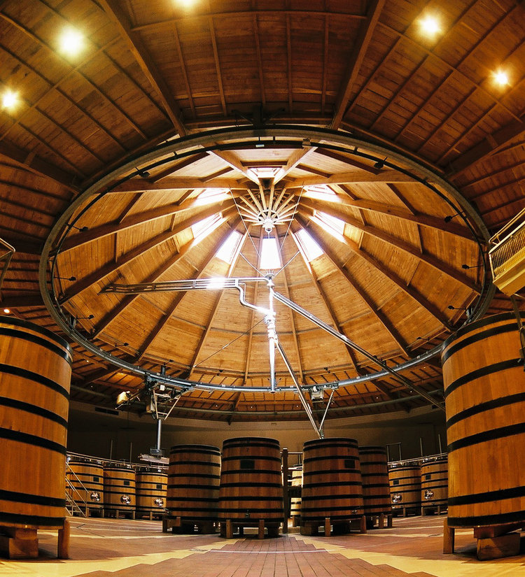 Winery at Louis Jadot (Credits: Maison Louis Jadot)