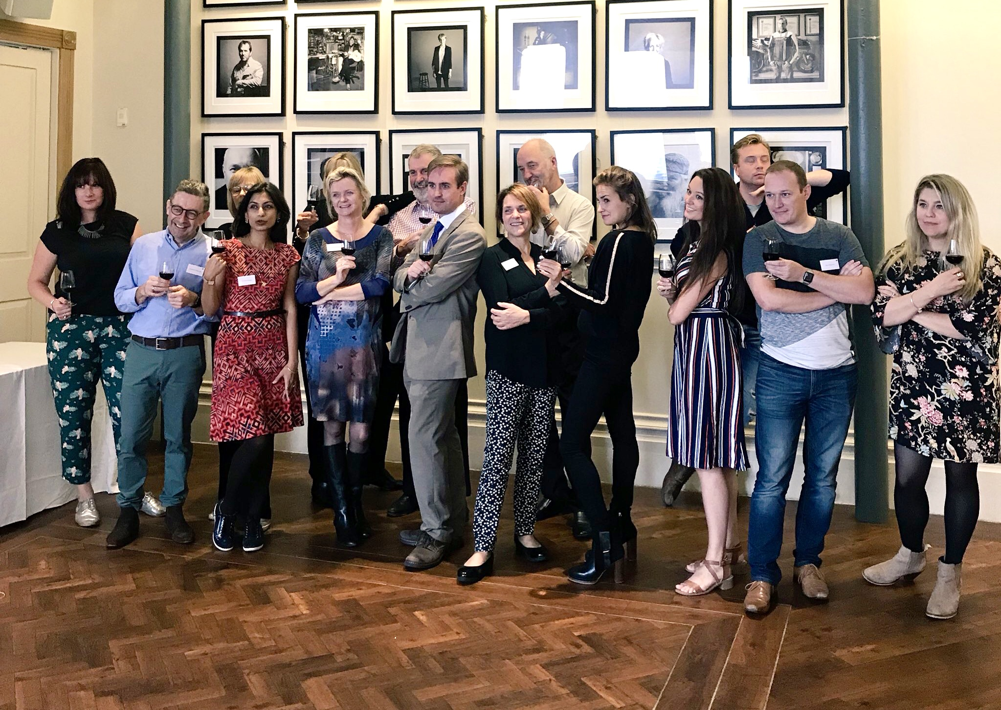 Final and Round 2 judges of People;s Choice of Wine Awards (Image credit: Francesca Gaffey)