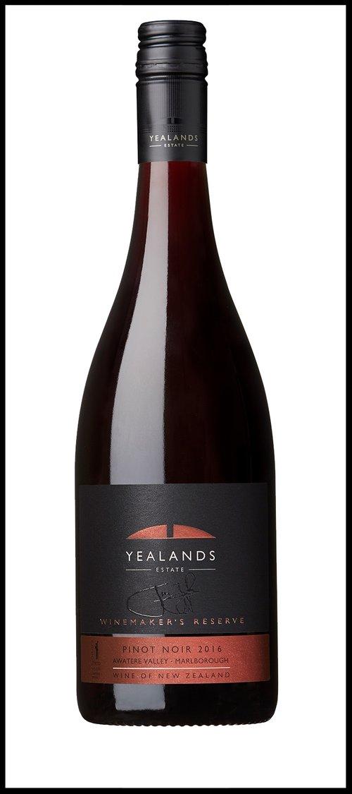 Yealands, Winemaker's Reserve Pinot Noir (Image Yealands)