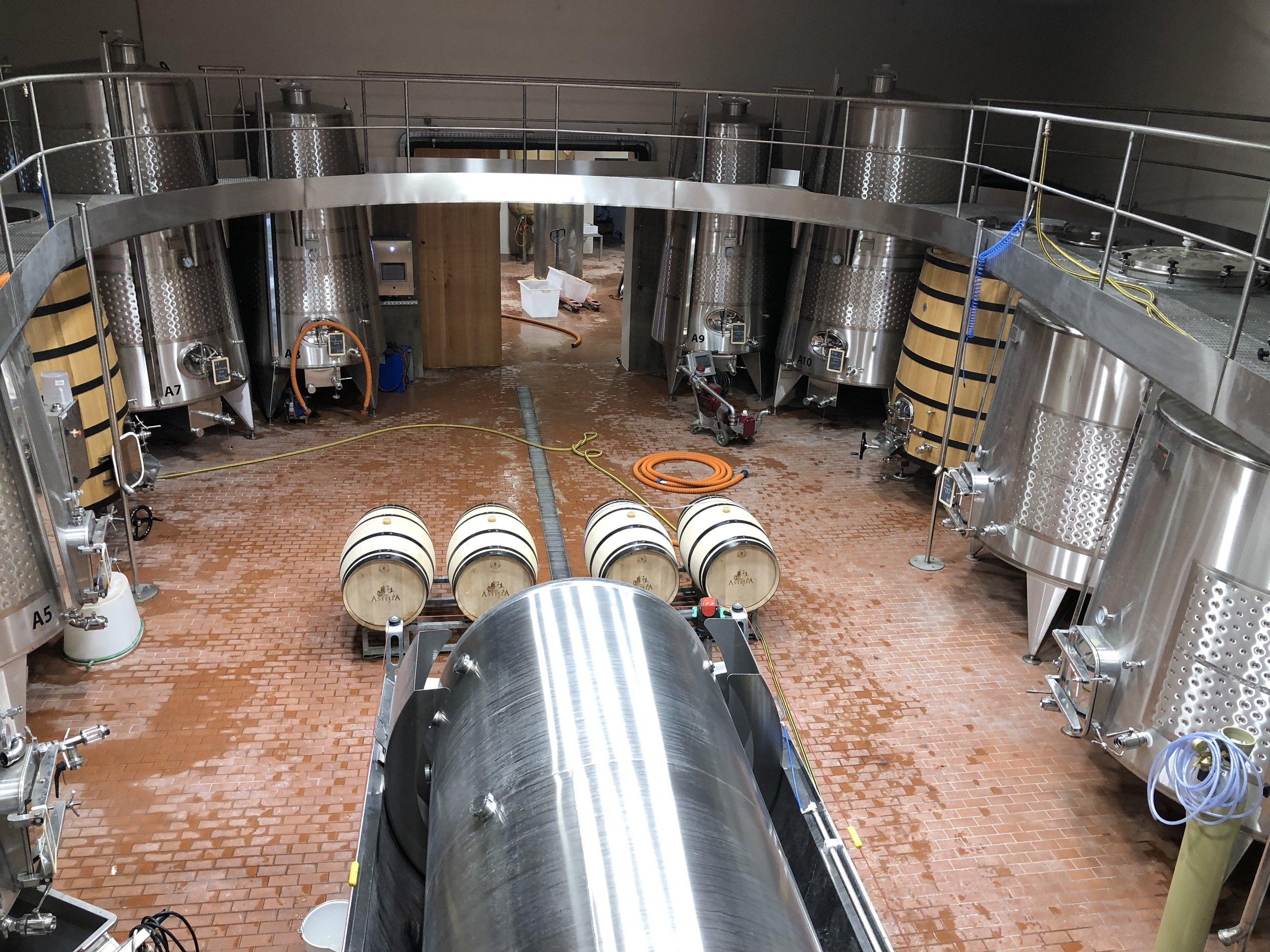 New Winery at Ch Astelia (Image: Sumita Sarma)