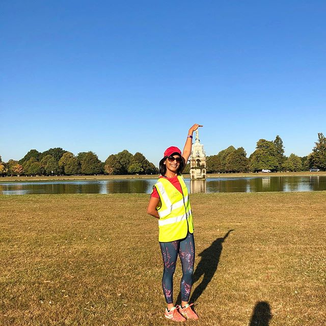 Blastfully sunny ☀️ summer September and camera tricks by son! How much fun to be 5k volunteers @parkrunuk @bushyparkrun #bushypark.  You have fun,a good laugh, contribute and build your and other's health.....all for a brilliant community cause 👍🏻. It's great to be a volunteer for your local run! You are helping build a healthy community.... #Dianafountain this is where it all began for #Parkrun. ACTIVE BODY=ACTIVE MIND... . thisislondon #balmybritain #nofilter #volunteer #communityrun #runnerscommunity #activebody #outdoors #runningmotivation #instarunners