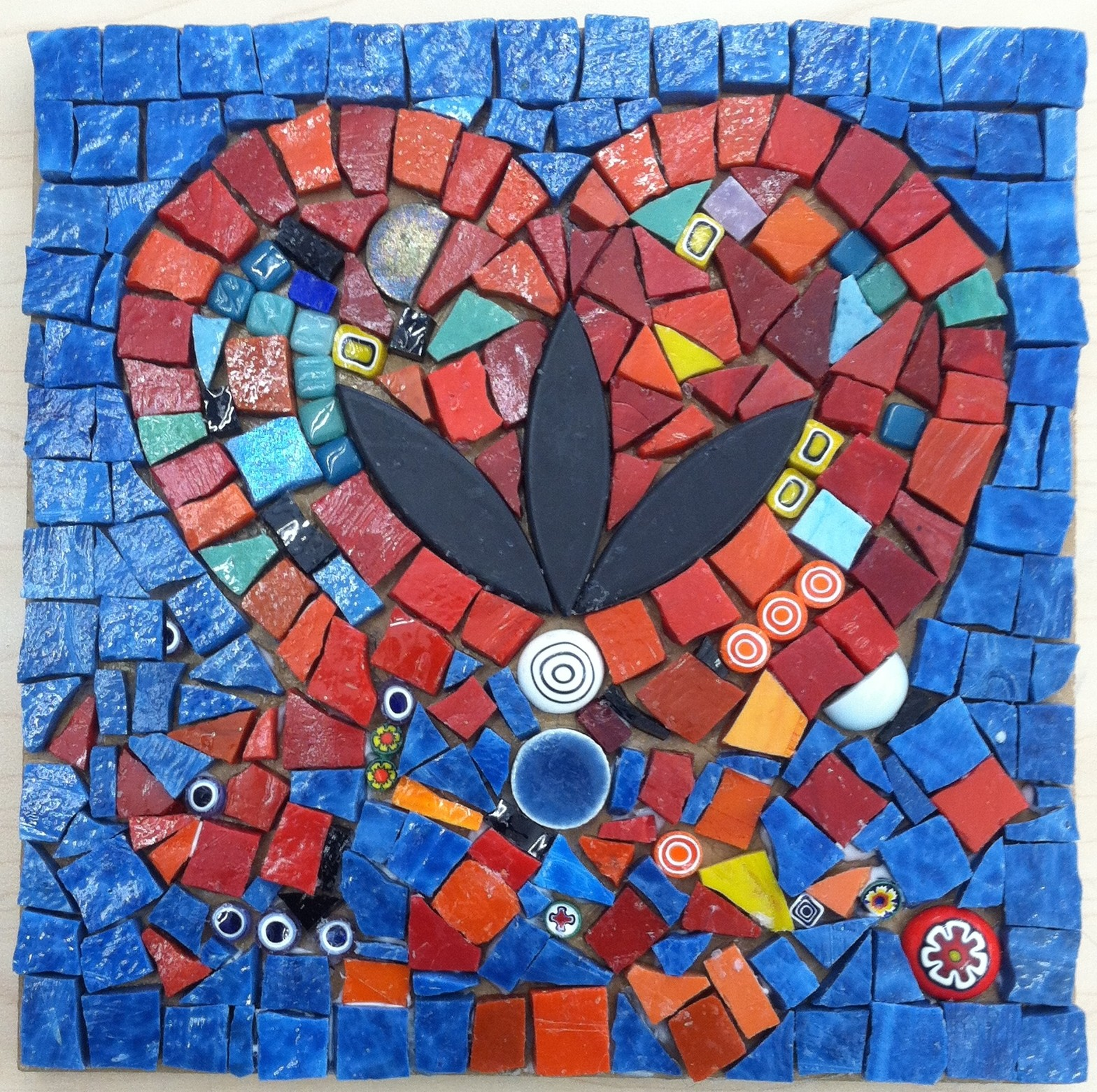 mosaic by Christine Demers