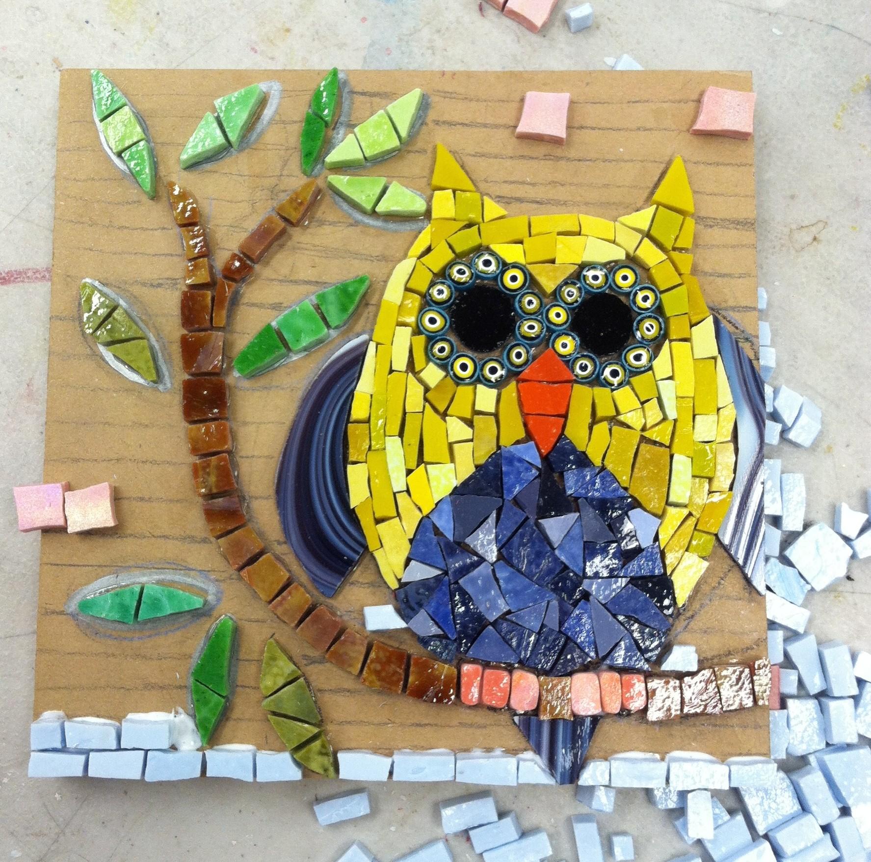 Leslie Walters' mosaic
