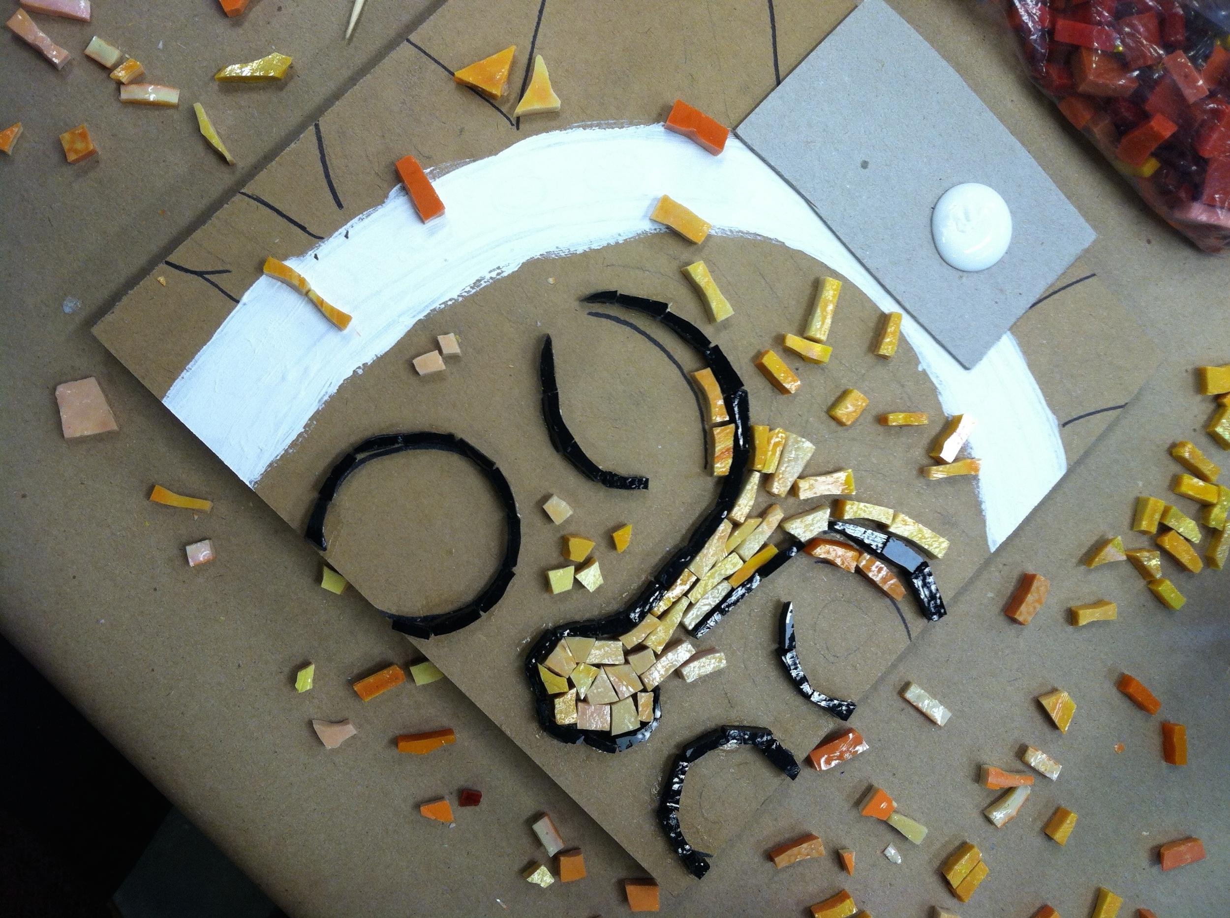 Dianne Henning's mosaic