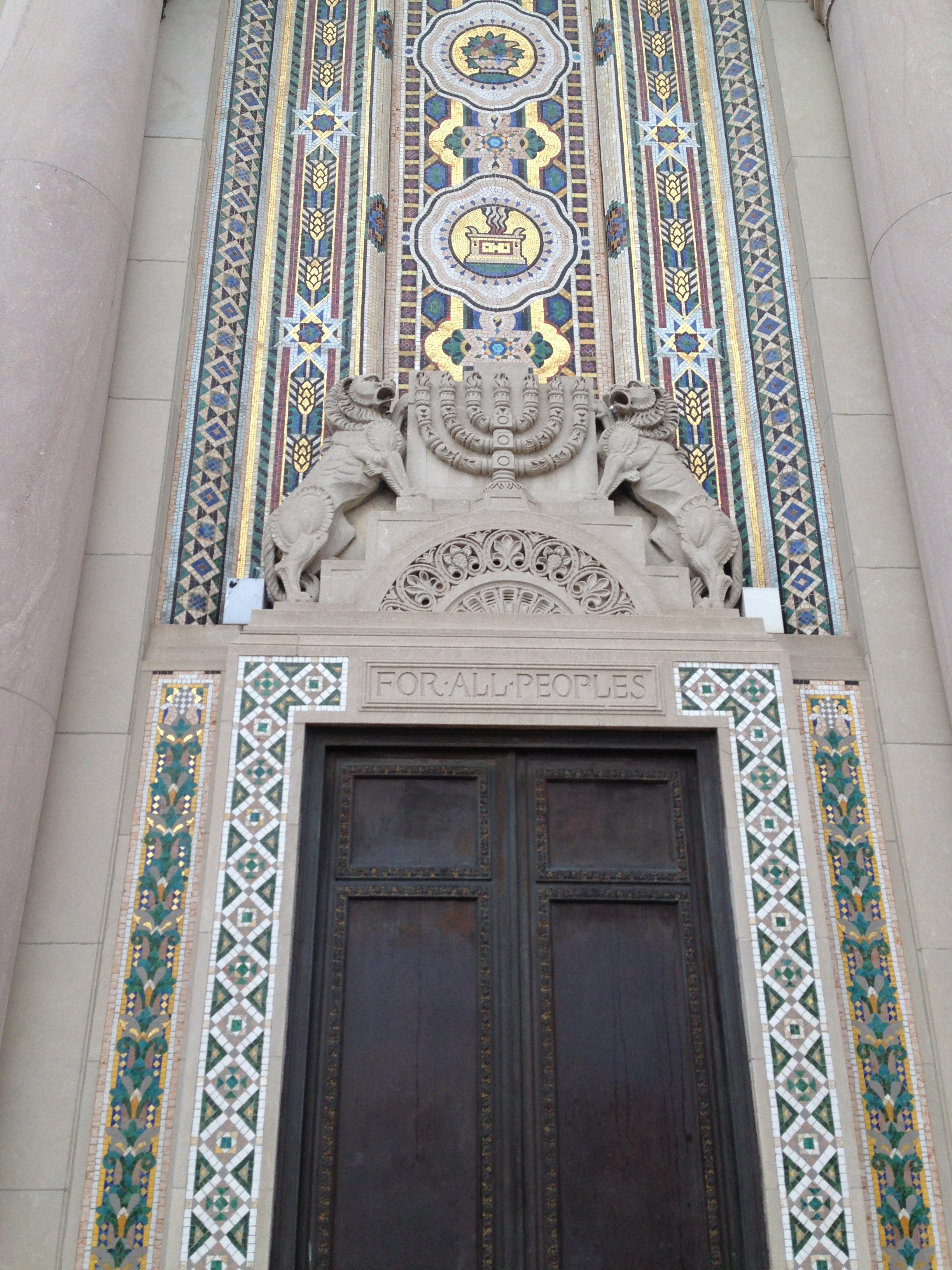 Facade of Rodeph Shalom