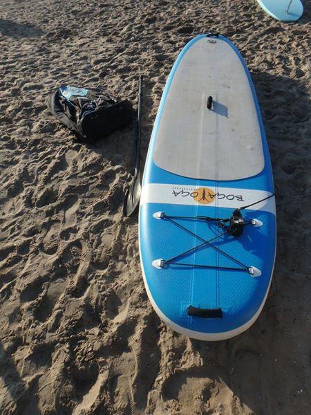 BOGA YOGA inflatable including 3 pcs paddle €850,-