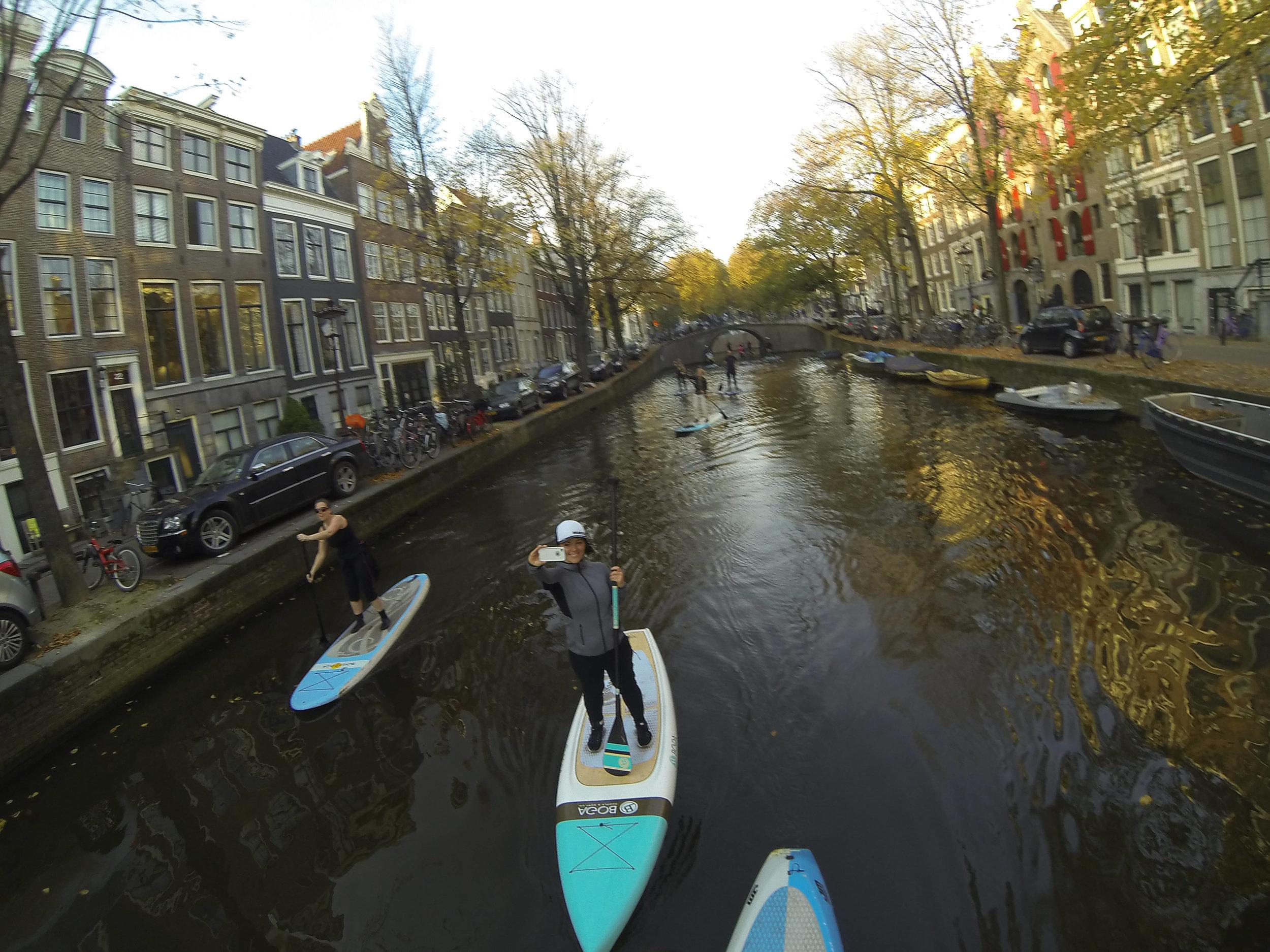 Amstel paddles