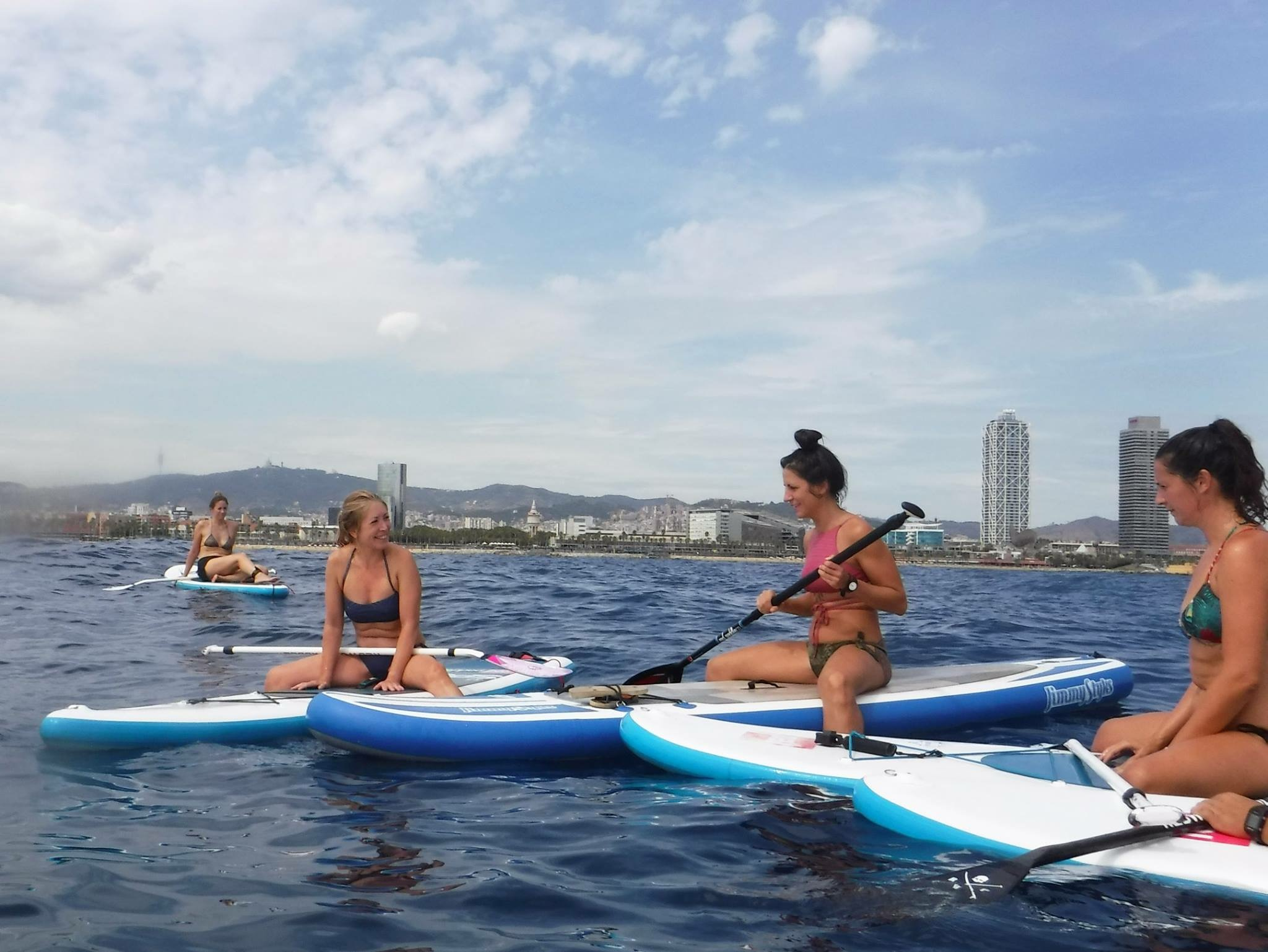 sup in Barcelona