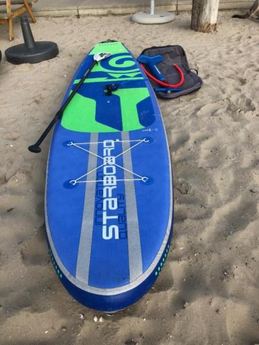 Starboard ZEN inflatable 11.2 €699 inclusief tas, pomp, leash en verstelbare paddle