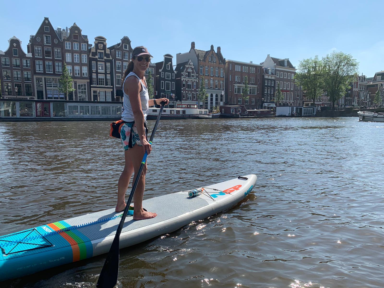 NSP 12.6 FS paddling Amsterdam