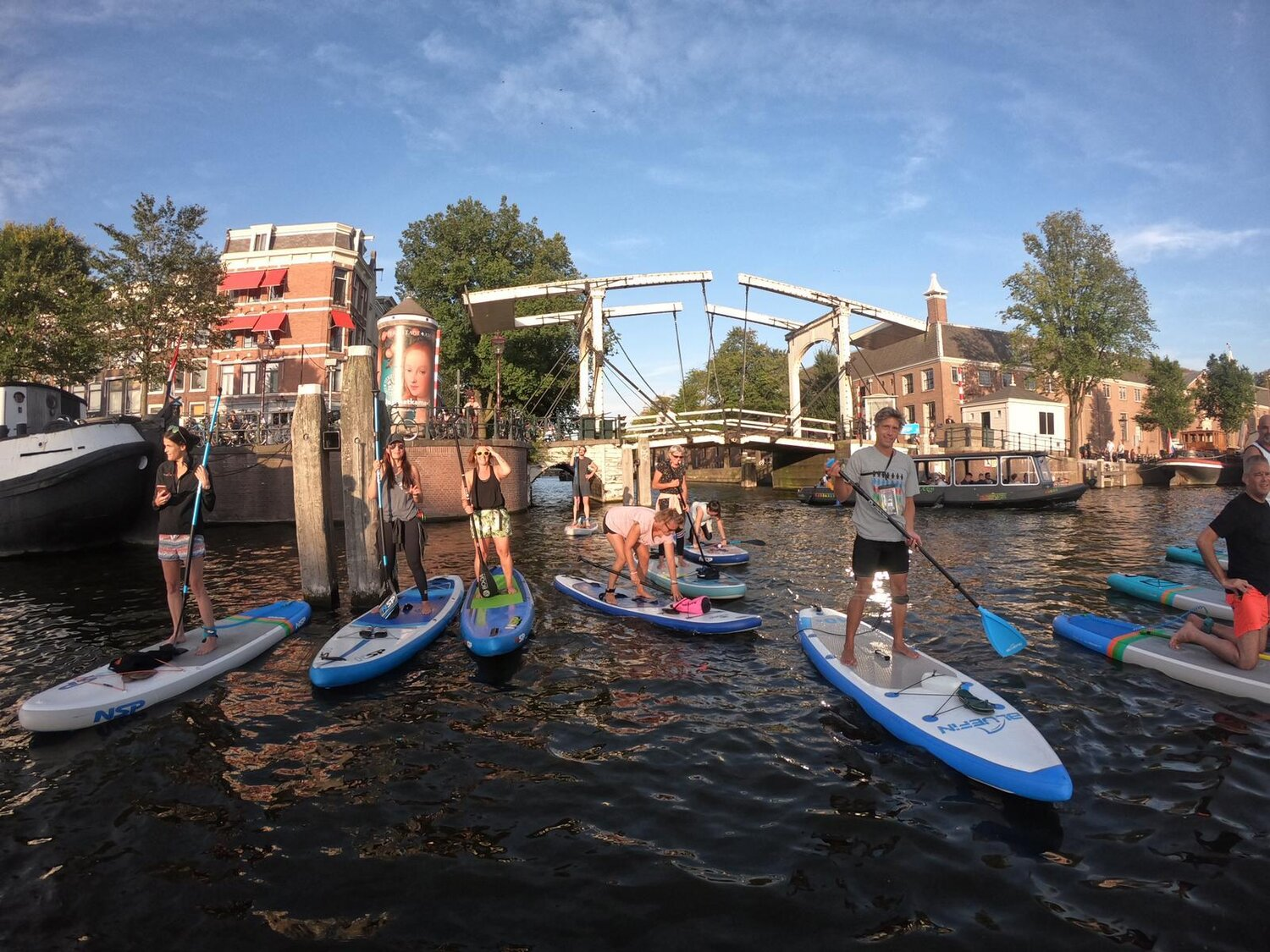 sup tour in amsterdam