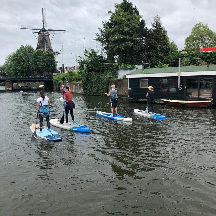 Ons gave opstap punt voor tours en lessen in Amsterdam