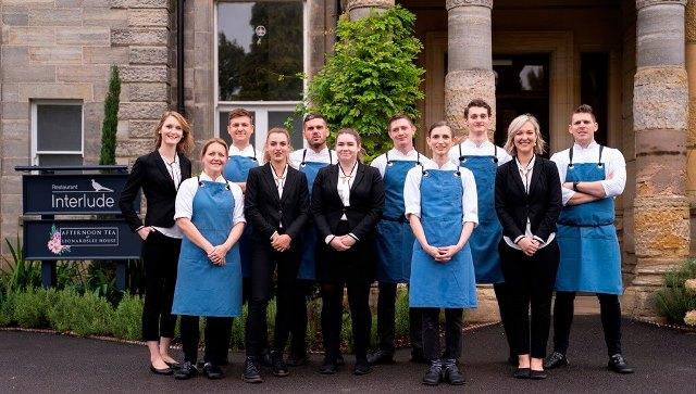The Team at Restaurant Interlude