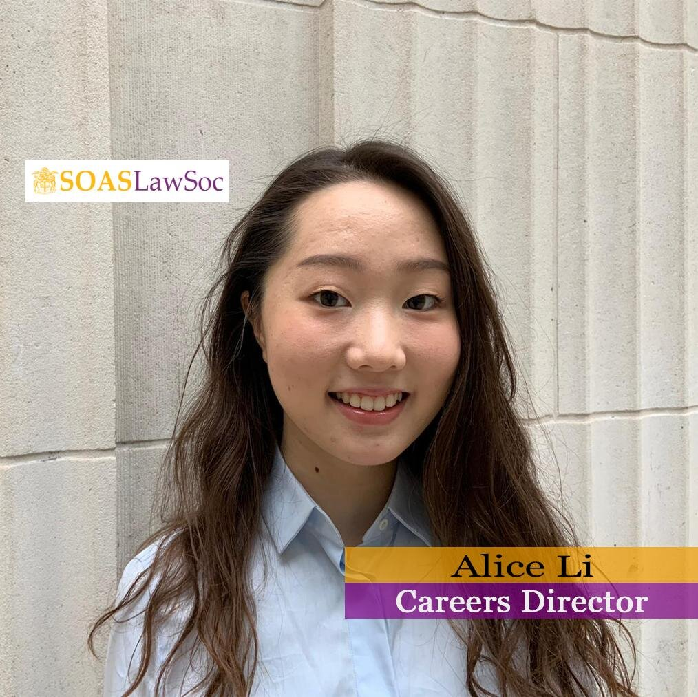 Andreea Reyes the 2019/20 committee — soas law society