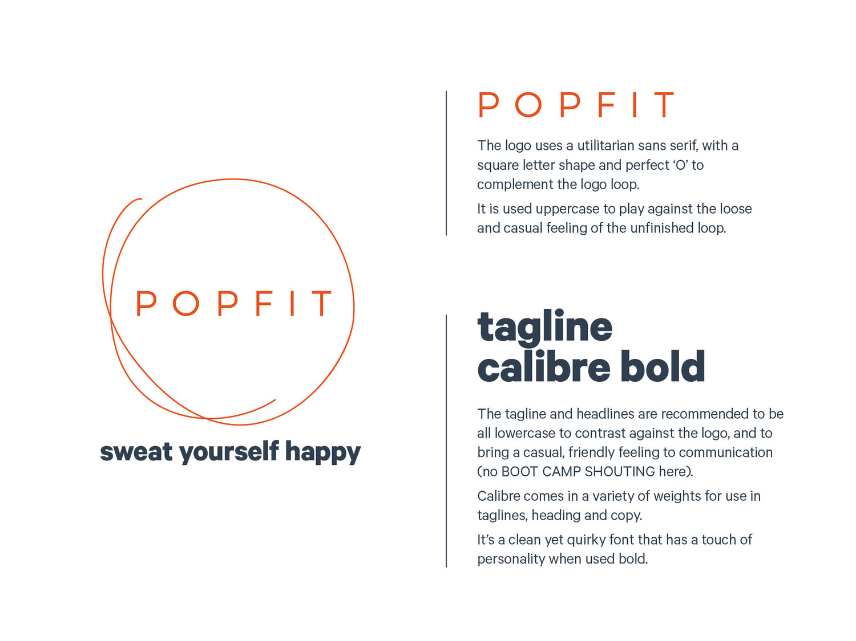 Pop Fit — Steph Pyne Creative