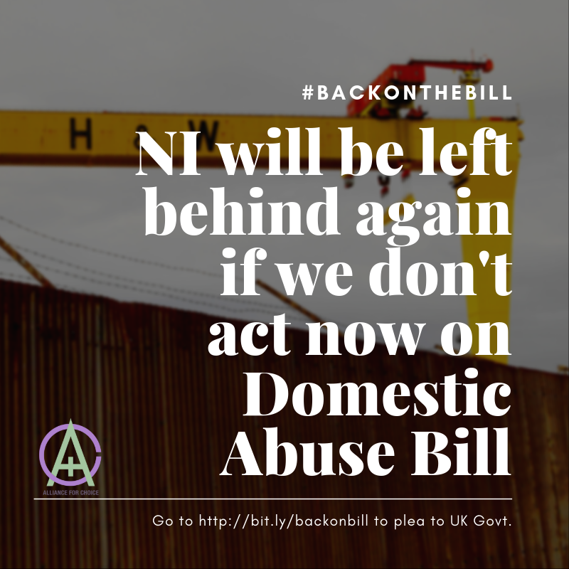#BACKONTHEBILL NI will be left behind again if we don't act now on Domestic Abuse Bill