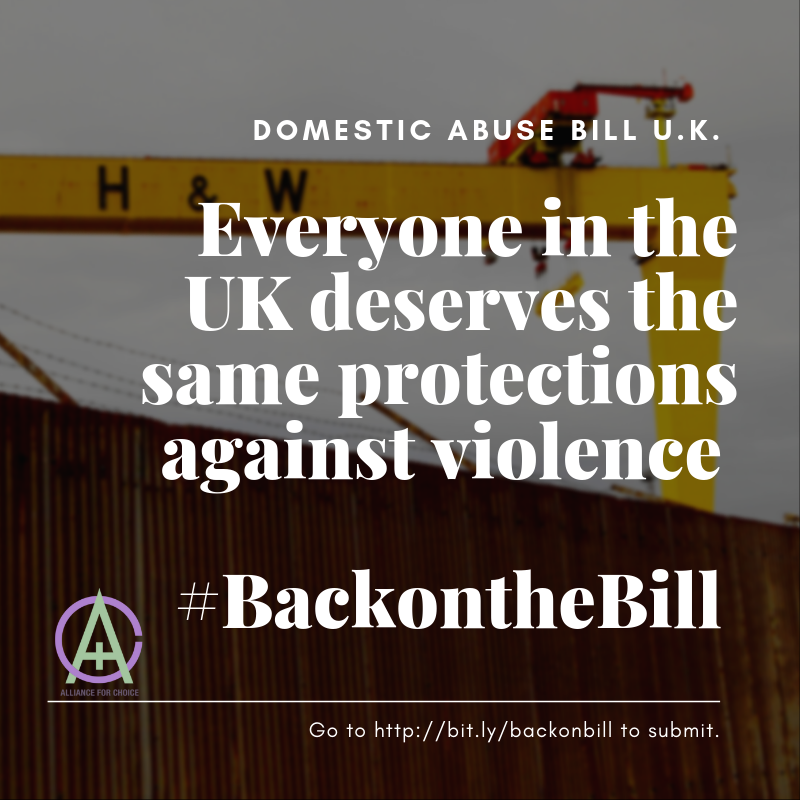 Everyone in the UK deserves the same protections against violence  #BackOnTheBill