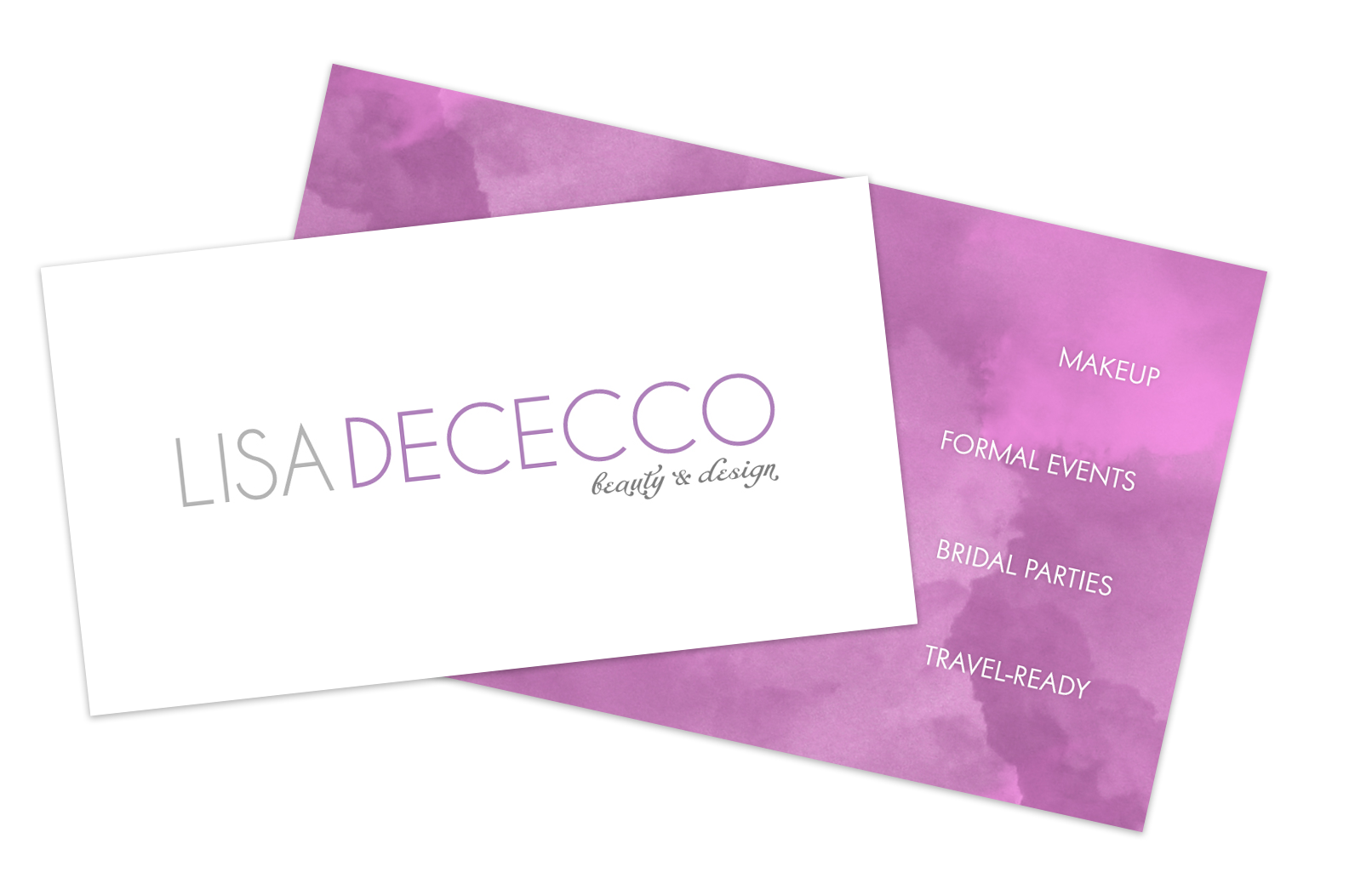Lisa DeCecco - Beauty and Design Business Cards