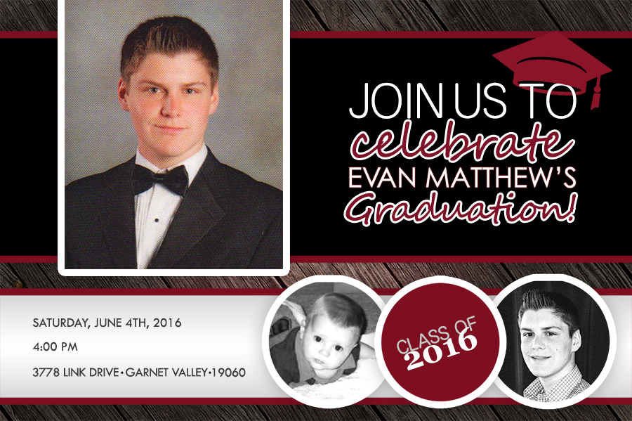 Lobodzinski Graduation Invite