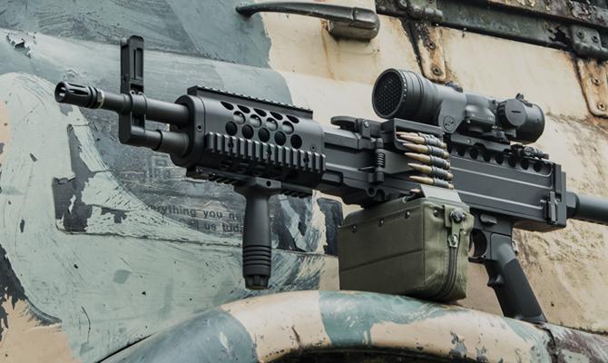 - MACHINE GUN