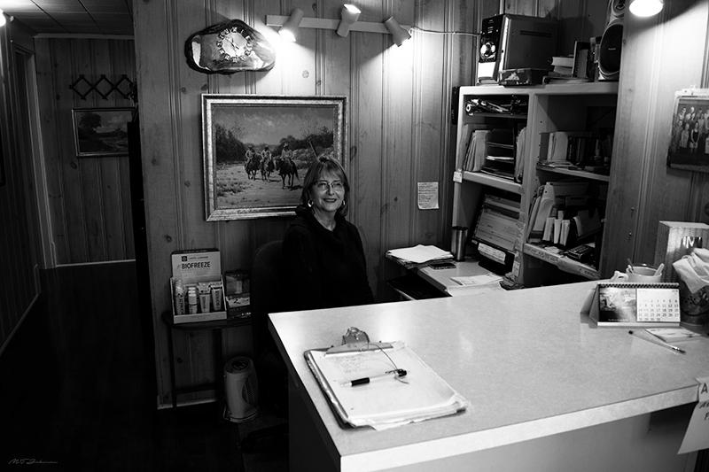 Carolyn Front Office_DSC_1071_800_BW.jpg