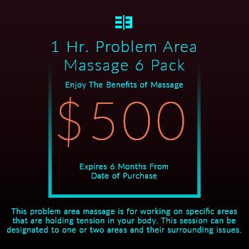 Website Pricing Option - Image - 1 Hr Massage 6 Pack - $350.00 - 350px by 350px.jpg