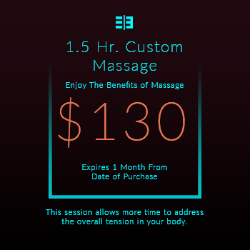 Website Pricing Option - Image - 1.5 Hr Massage $130.00 - 350px by 350px.jpg