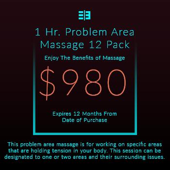 Website Pricing Option - Image - 1 Hr Massage 12 Pack - $980.00 - 350px by 350px.jpg