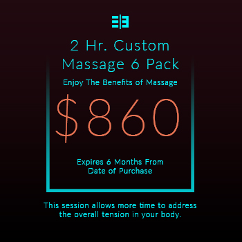 Website Pricing Option - Image - 2 Hr Massage 6 Pack - $860.00 - 350px by 350px.jpg