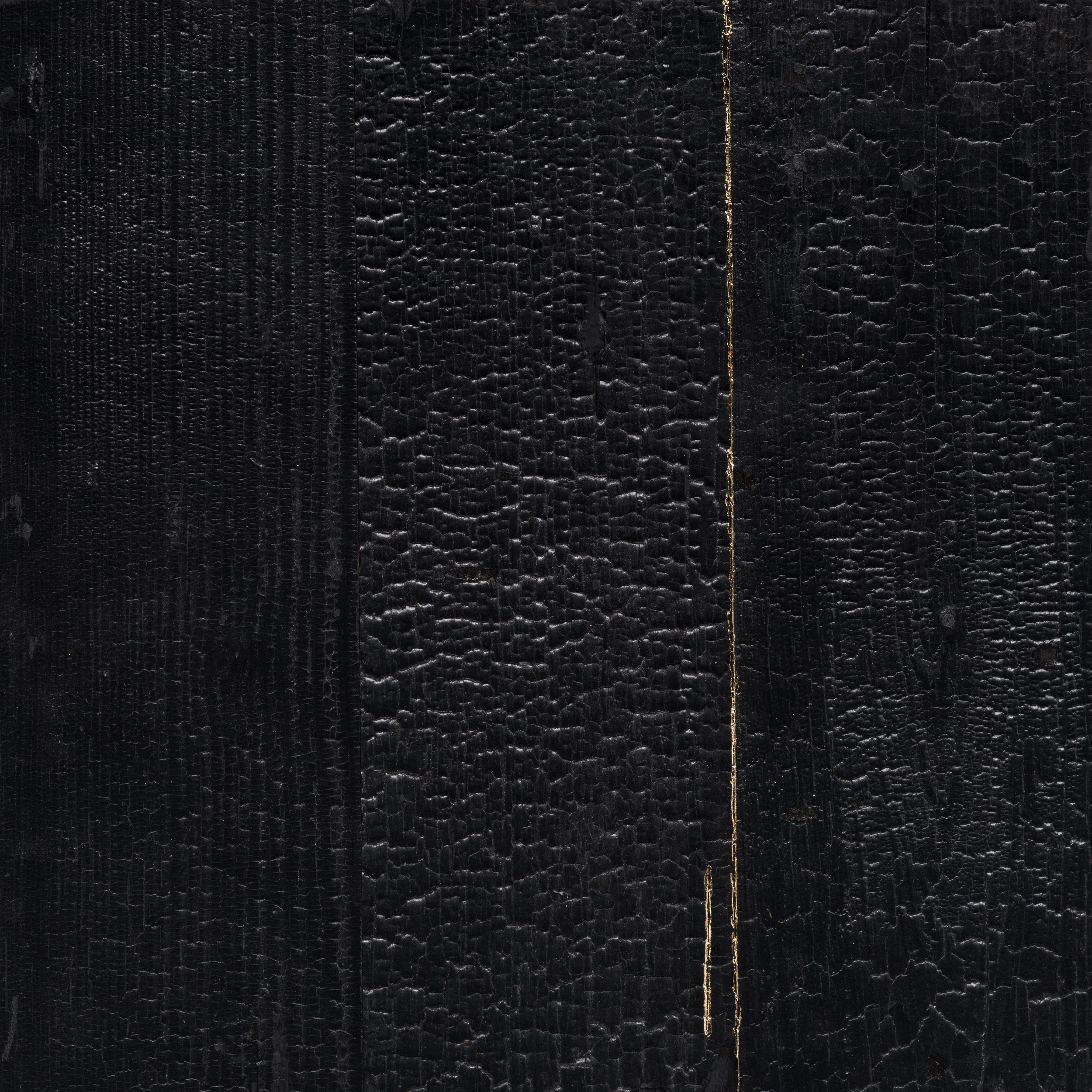 miya ando kintsugi repaired with gold shou sugi ban charred cedar sundaram tagore gallery