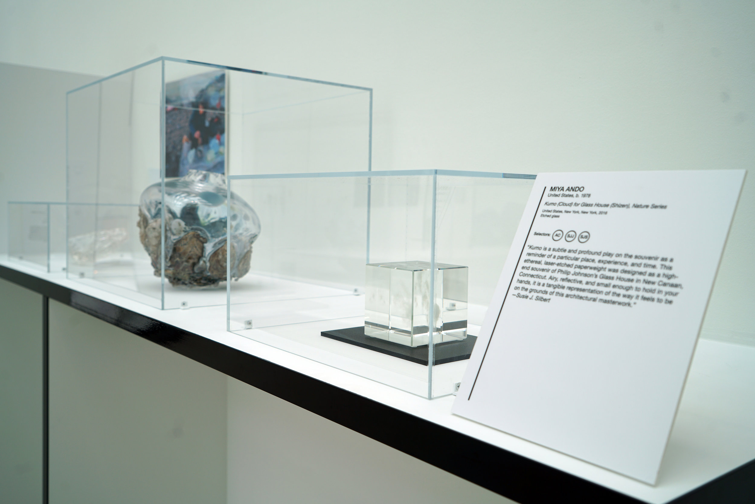 """""""NEW GLASS NOW 2019,"""" CORNING MUSEUM OF GLASS, NY 2019"""