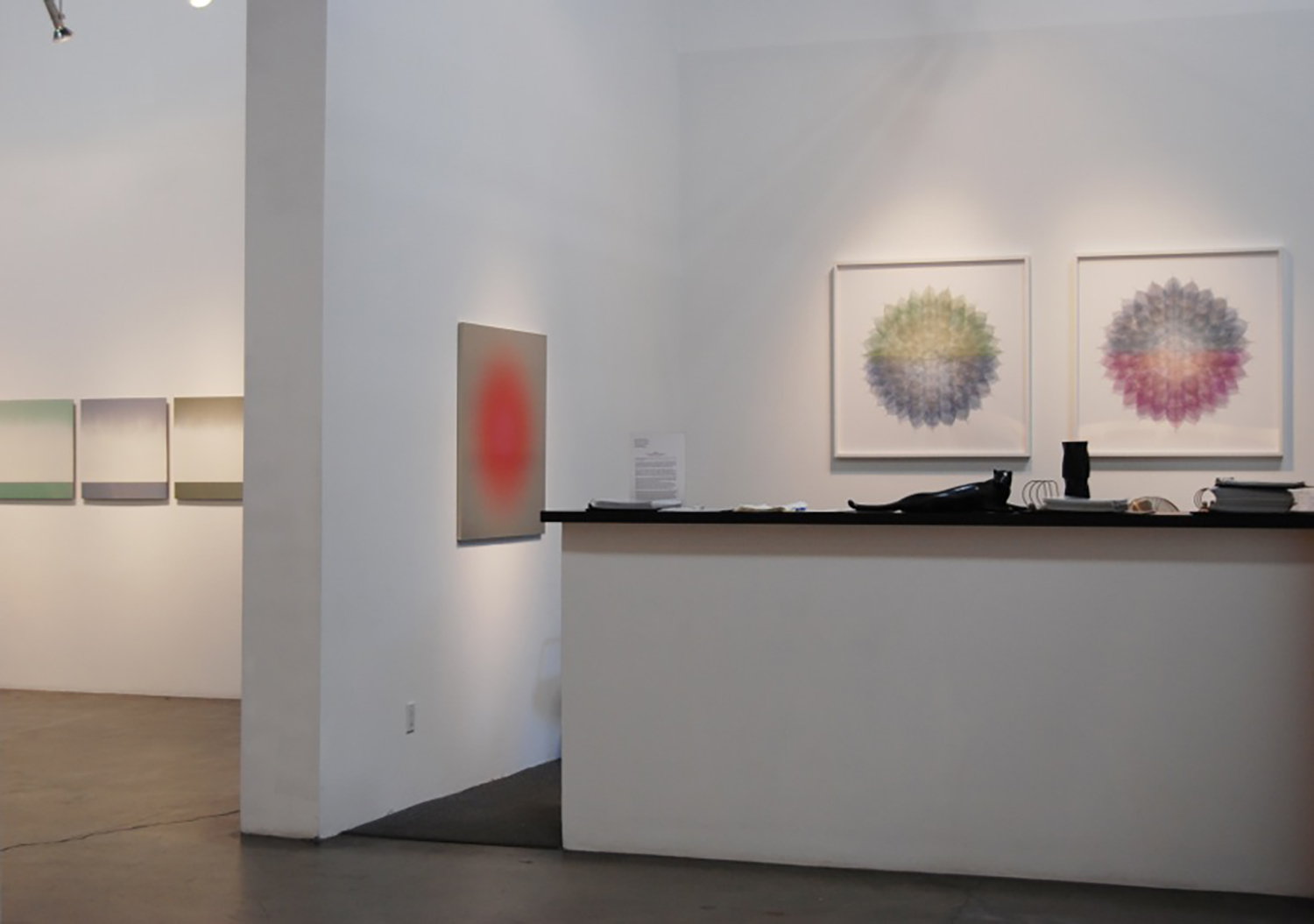 """""""GINGA (THE SILENT RIVER/ GALAXY)"""" LORA SCHLESINGER GALLERY 2016"""